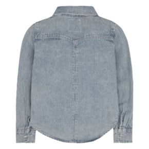 Girls 4-6x Levi's Acid Washed Western Denim Top