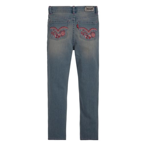 Girls 4-6x Levi's Sabrina Denim Leggings