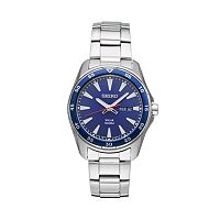 Seiko Men's Core Stainless Steel Solar Watch - SNE391