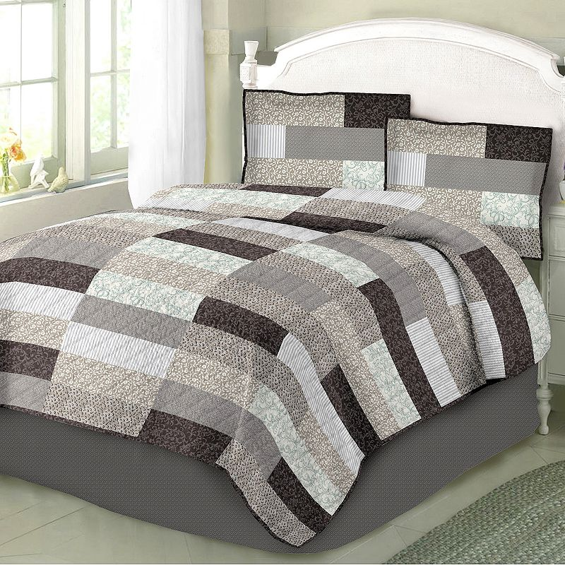Home Classics Grey Floral Bedding Kohl 39 S