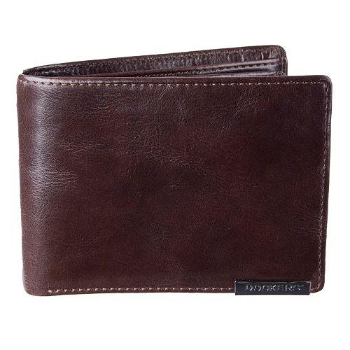 Men's Dockers Extra-Capacity Leather Wallet