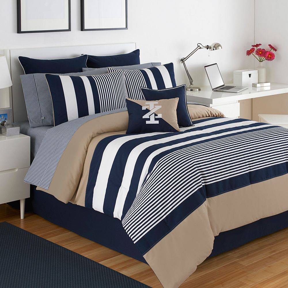 Kohls Bedroom Furniture Izod Classic Stripe Bedding Collection