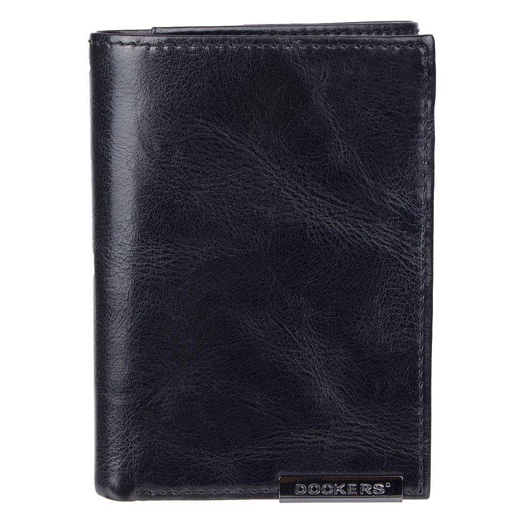 Men's Dockers Leather Trifold Wallet