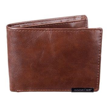 Men's Dockers Traveler Tan Wallet