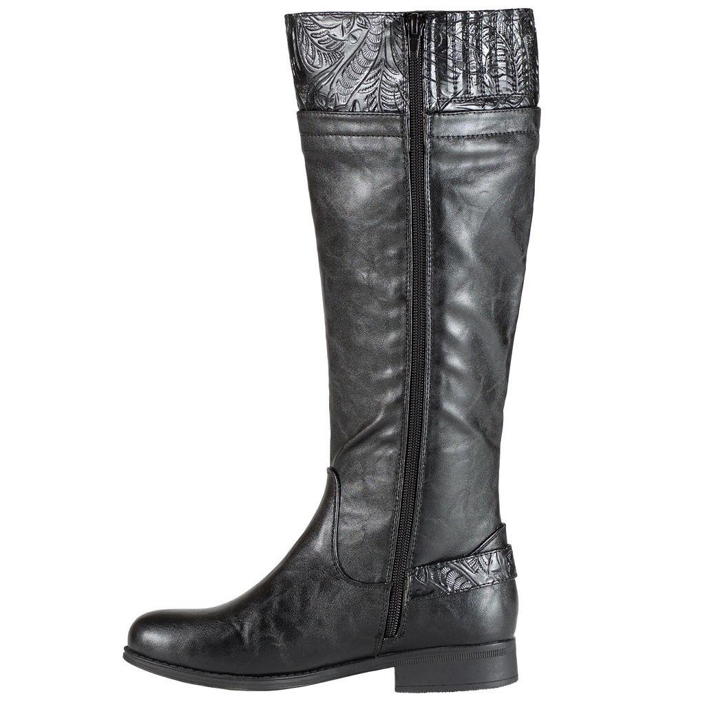 Easy Street Burke Women's Tall Riding Boots