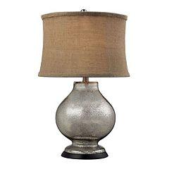 Dimond Stonebrooke LED Mercury Glass Table Lamp