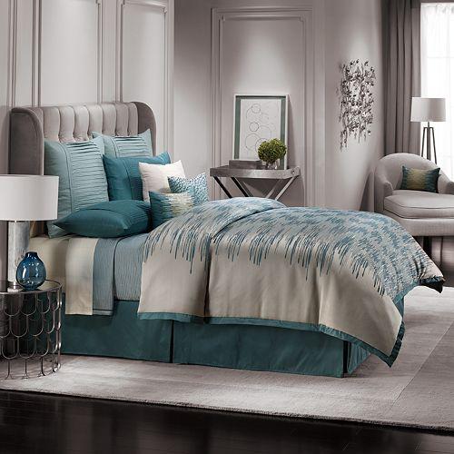Jennifer Lopez Bedding Collection Estate 4 Pc Comforter Set