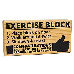 BigMouth Inc. Exercise Block
