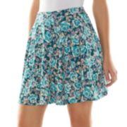 LC Lauren Conrad Textured Skater Skirt - Women's