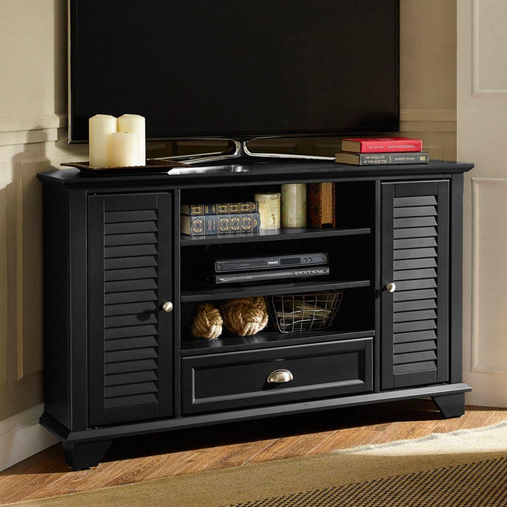 Crosley Furniture Palmetto 50 Inch Corner Tv Stand