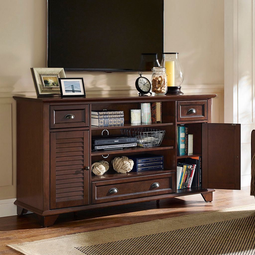 Crosley Furniture Palmetto 60-inch Full Size TV Stand