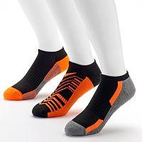 Tek Gear ® 3-pack Cushioned Low-Cut Performance Socks with Cinch Sack - Men