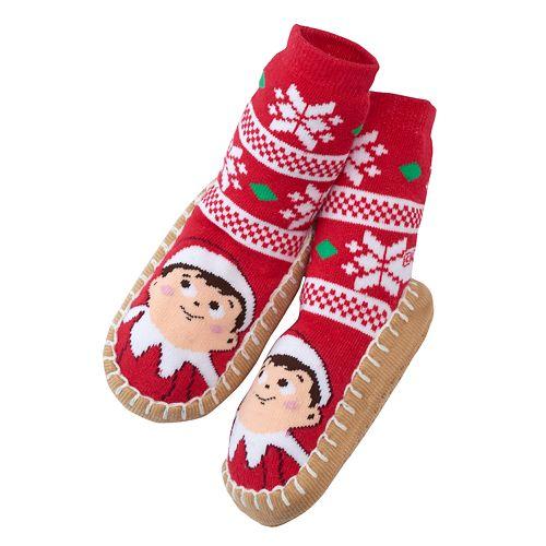 The Elf on the Shelf® Slipper Socks - Toddler Neutral