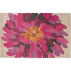 Artisan Weaver Menno Floral Wool Rug