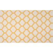 Artisan Weaver Mirabel Lattice Reversible Wool Rug