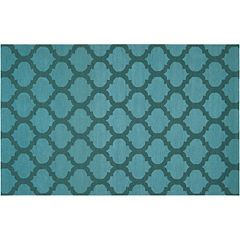 Artisan Weaver Mirabel Lattice Reversible Wool Rug