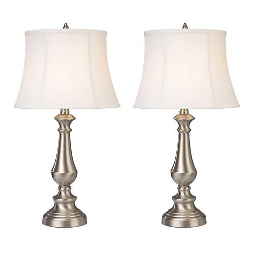 "Dimond 2-piece Trump Home Fairlawn 25"" LED Table Lamp Set"