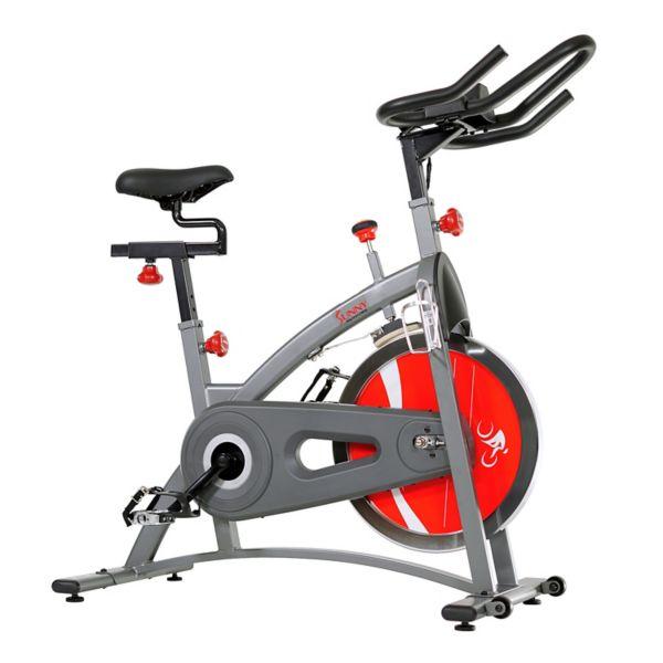 Sunny Health & Fitness Belt Drive Upright Exercise Bike