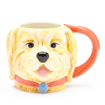 Certified International 16-oz. 3D Dog Mug