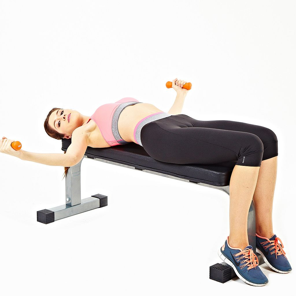 Sunny Health & Fitness Flat Workout Bench (SF-BH6501)