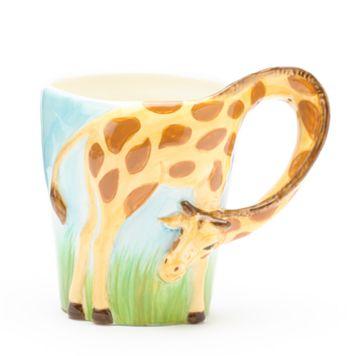Certified International 16-oz. 3D Giraffe Mug