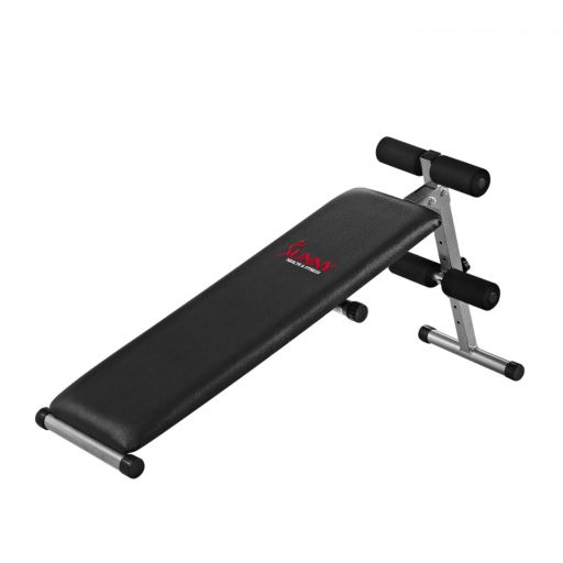 Sunny Health & Fitness 2-in-1 Sit-Up Bench (SF-BH6505)