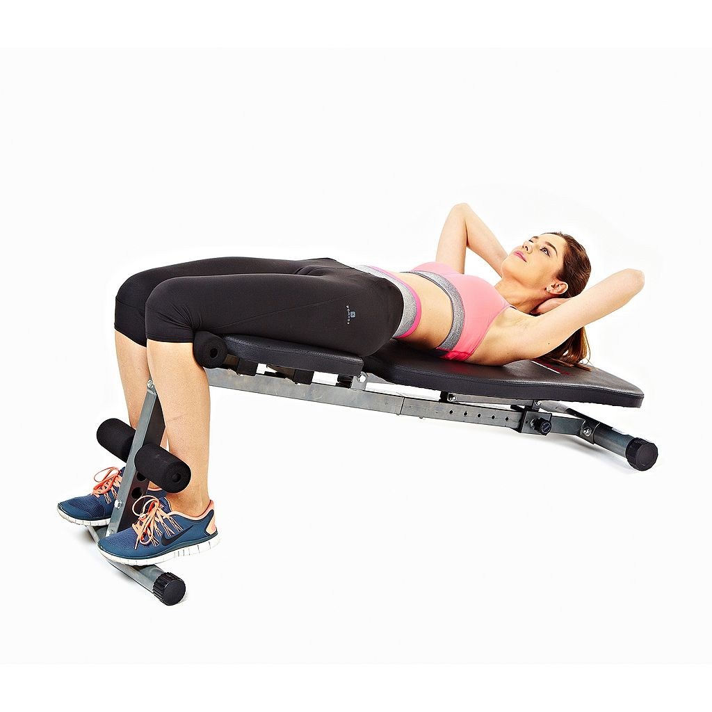 Sunny Health & Fitness 3-in-1 Sit-Up Bench (SF-BH6506)