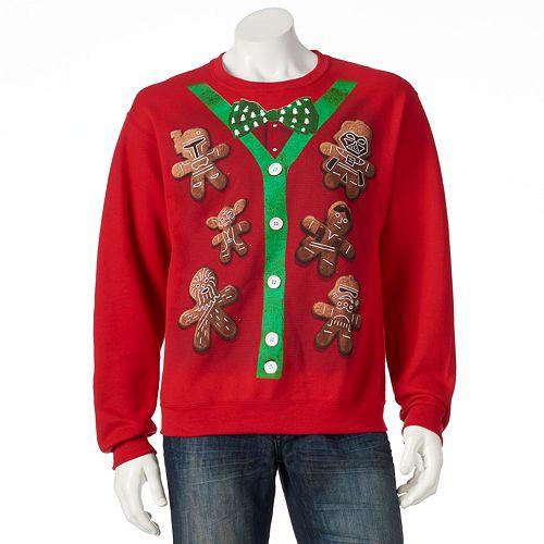 Men's Star Wars Christmas Cookies Sweatshirt