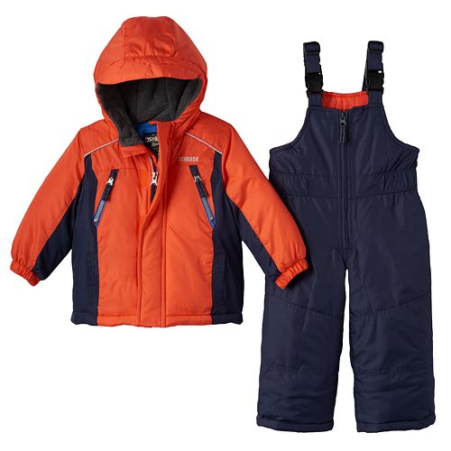 3c9107f94 OshKosh B gosh® Hooded Jacket   Bib Snow Pants Set - Baby Boy