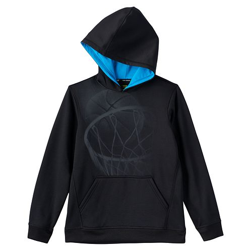 534d7ef0e Boys 8-20 Tek Gear® Graphic Performance Fleece Hoodie