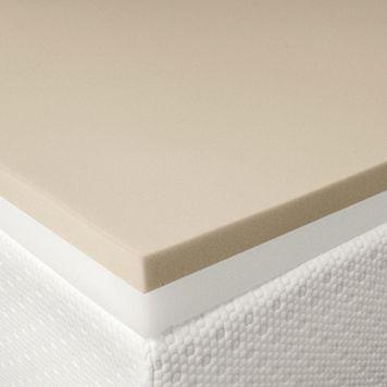 Cameo 3-inch Memory Foam & Foam Combo Mattress Topper