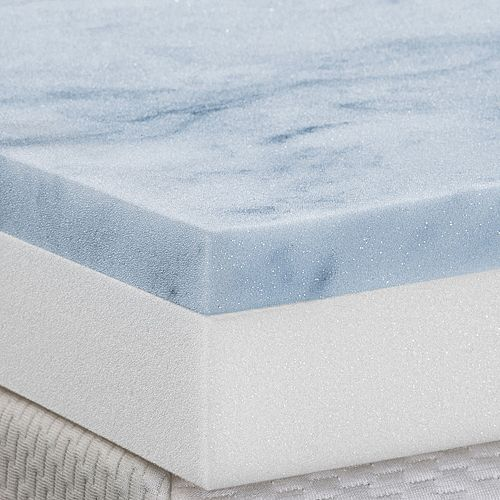 Cameo 3 Inch Gel Memory Foam Amp Foam Combo Mattress Topper