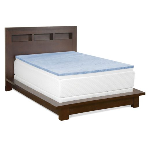 Cameo 3-inch Gel Memory Foam & Foam Combo Mattress Topper