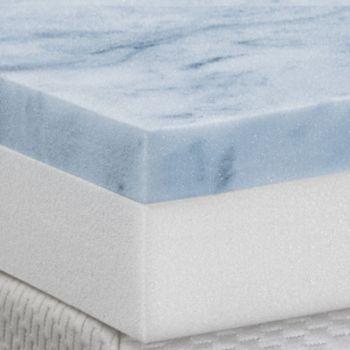 Cameo 4-inch Gel Memory Foam & Foam Combo Mattress Topper