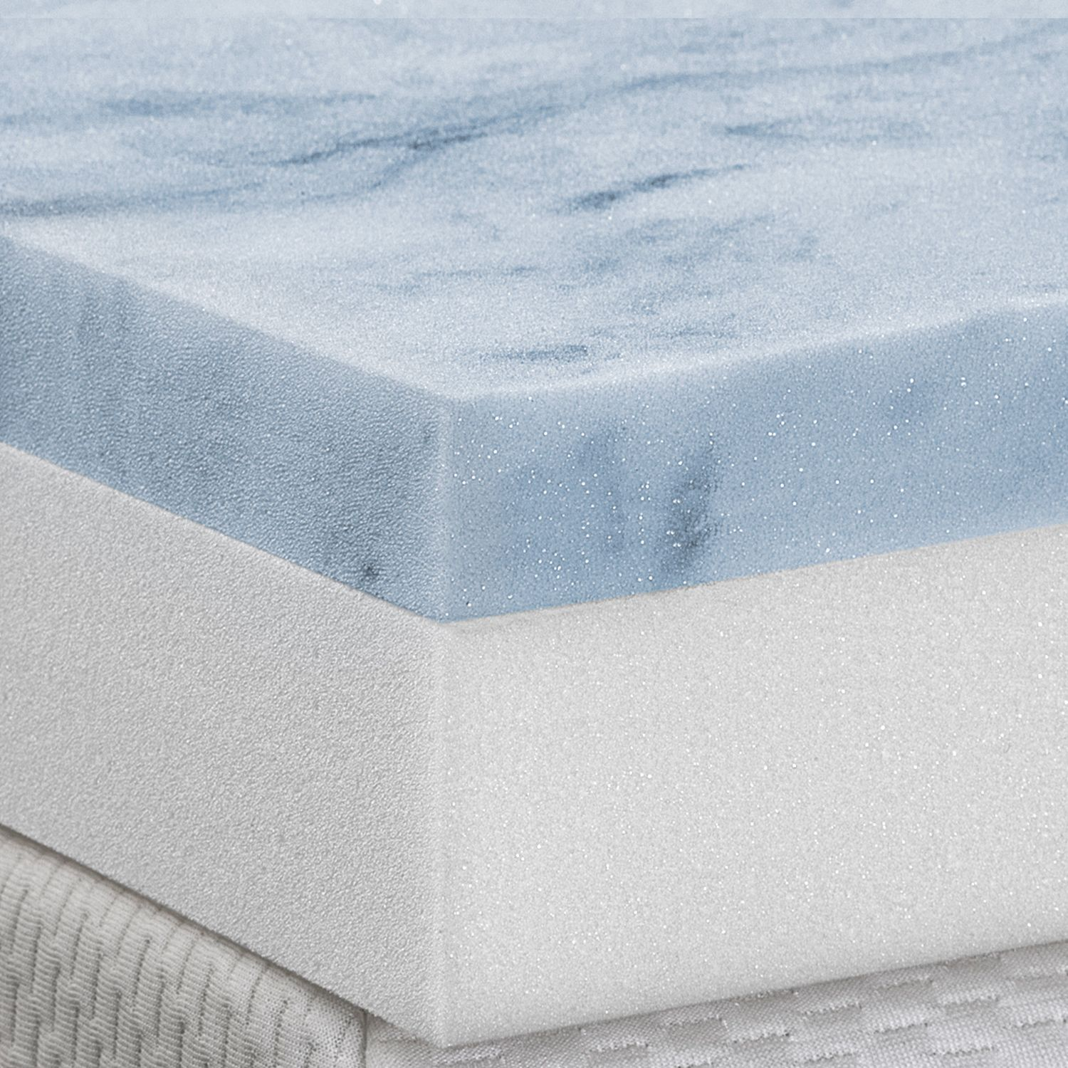 4inch gel memory foam mattress topper
