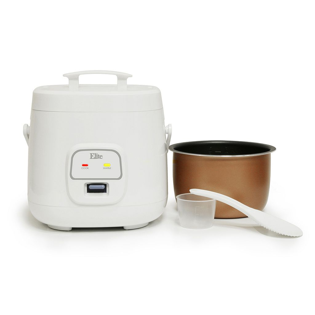 Elite Cuisine 4-Cup Personal Rice Cooker