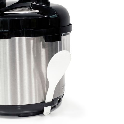 Elite Cuisine 4-qt. Electric Stainless Steel Pressure Cooker