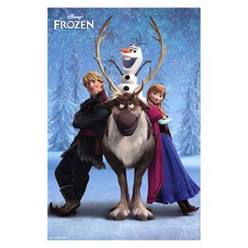 Disney's Frozen Team Poster Wall Art by Art.com