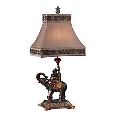 Dimond Alanbrook Monkey on Elephant Table Lamp