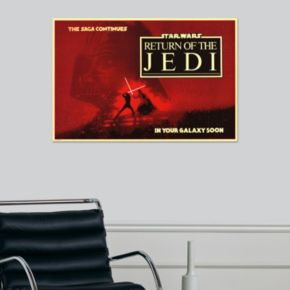 Art.com Star Wars Return of the Jedi Circles Poster Wall Art
