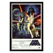 Art.com Star Wars Episode IV New Hope Framed Wall Art