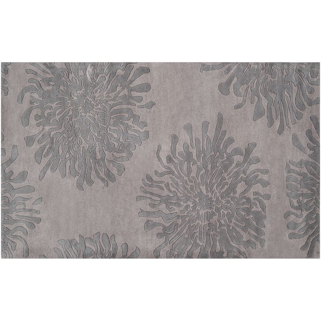 Artisan Weaver Nebraska Floral Wool Rug