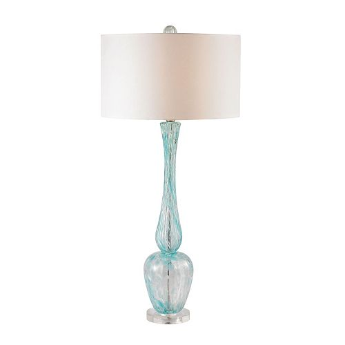 Dimond Sleek Blown Glass 9.5 Watt LED Table Lamp