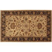Artisan Weaver Nisland Floral Framed Wool Rug