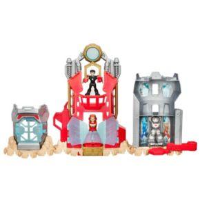 Playskool Heroes Marvel Super Hero Adventures Iron Man Armor-Up Fortress by Hasbro
