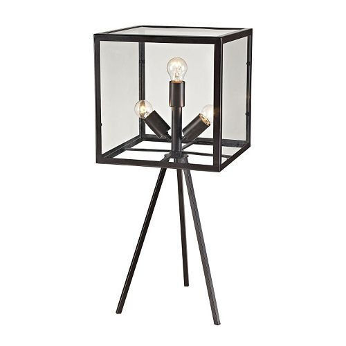 Dimond Industrial Cube Table Lamp