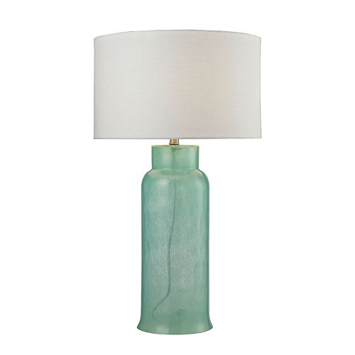 Dimond Water Bottle Glass LED Table Lamp