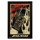 Art.com Star Wars Darth Vader Propaganda Framed Wall Art