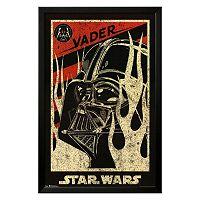 Art.com Star Wars Darth Vader Propaganda Framed Wall Art