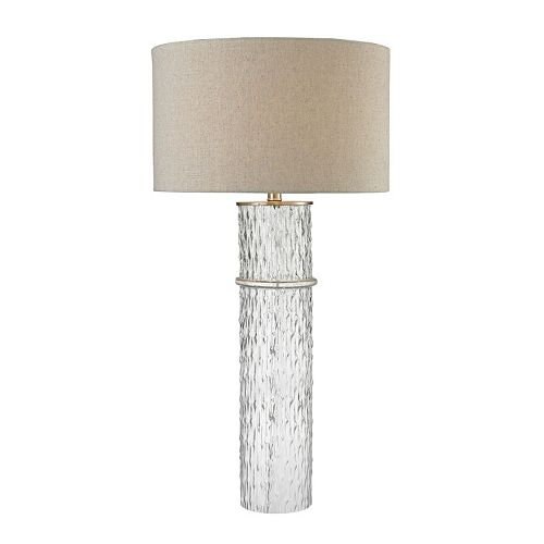 Dimond Two-Tier Glass LED Table Lamp